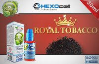 30ml ROYAL TOBACCO 3mg eLiquid (With Nicotine, Very Low) - Natura eLiquid by HEXOcell εικόνα 1