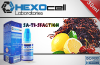 30ml SA-TI-SFACTION 6mg 80% VG eLiquid (With Nicotine, Low) - eLiquid by HEXOcell εικόνα 1