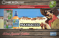 60ml MAXBACCO SPECIAL EDITION 3mg High VG eLiquid (With Nicotine, Very Low) - Natura eLiquid by HEXOcell εικόνα 1