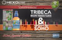 60ml TRIBECA & SOHO SPECIAL EDITION 9mg High VG eLiquid (With Nicotine, Medium) - Natura eLiquid by HEXOcell εικόνα 1