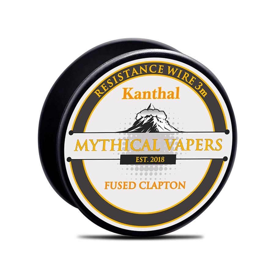 ΑΤΜΟΠΟΙΗΤΗΣ - ΣΥΡΜΑ MYTHICAL FUSED CLAPTON KANTHAL A1 ( 2x24GA + 32GA ) - 3M εικόνα 1