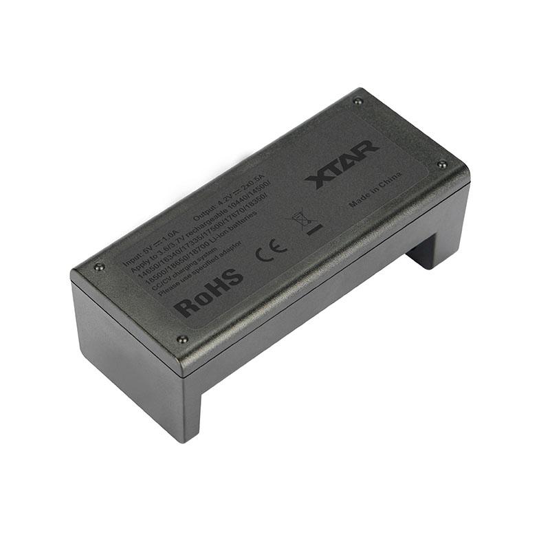 ΦΟΡΤΙΣΤΗΣ - 18650/26650 XTAR MC2 USB ( DOUBLE ) εικόνα 3