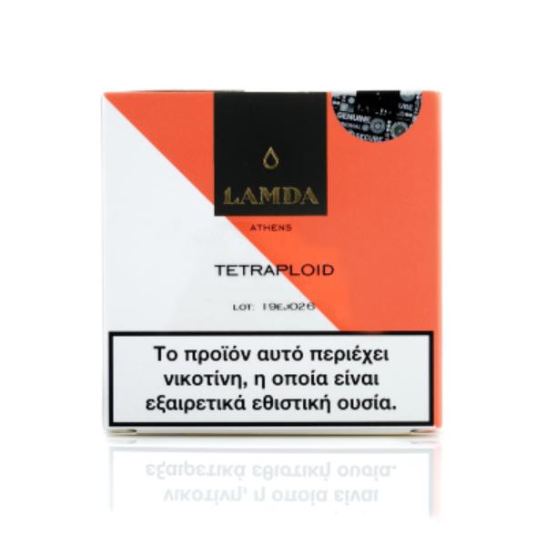 ELIQUID - 10ML - LAMDA - TETRAPLOID 12mg * TPD * εικόνα 1