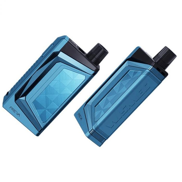ΚΑΣΕΤΙΝΑ - WISMEC PREVA DNA 20W 1050MAH + 3ML POD TANK ( BLUE ) εικόνα 2