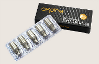 ΑΤΜΟΠΟΙΗΤΉΣ - 5x ASPIRE Κεφαλές Ατμοποιητή για ASPIRE K1, CE5, ET-S & Vivi Nova-S τεχνολογίας BVC ( 1.6 ohms ) - 100% Αυθεντικές εικόνα 1