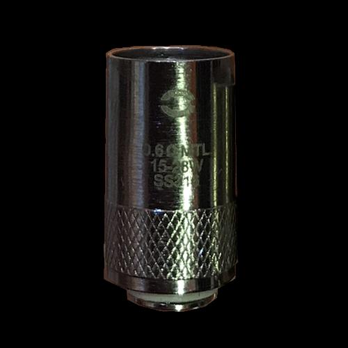 ΑΤΜΟΠΟΙΗΤΗΣ - 1x ΚΕΦΑΛΗ OVALE EROLL2 ( MTL SS316 0.6 ohm ) εικόνα 1