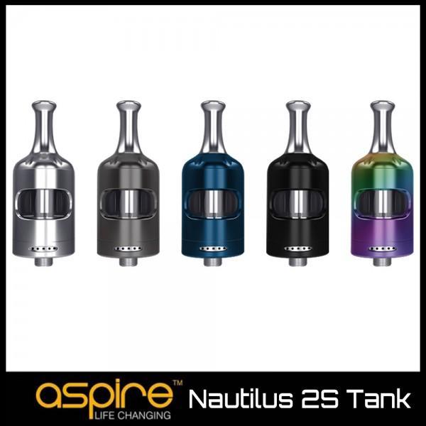 ΑΤΜΟΠΟΙΗΤΗΣ - ASPIRE NAUTILUS 2S TANK 23MM 2ML ( BLACK ) εικόνα 1