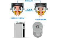 KIT - Eleaf iStick Sub Ohm 30W - 2200mA VV/VW ( ΜΠΛΕ ) εικόνα 6