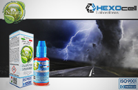 30ml DARK STORM 18mg eLiquid (With Nicotine, Strong) - Natura eLiquid by HEXOcell εικόνα 1