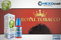 30ml ROYAL TOBACCO 18mg eLiquid (With Nicotine, Strong) - Natura eLiquid by HEXOcell εικόνα 1