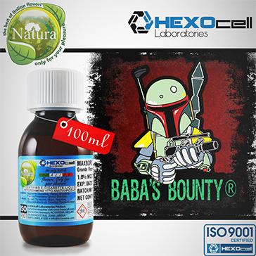 100ml BABA'S BOUNTY 9mg eLiquid (With Nicotine, Medium) - Natura eLiquid by HEXOcell