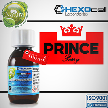 100ml PRINCE PERRY 9mg eLiquid (With Nicotine, Medium) - Natura eLiquid by HEXOcell