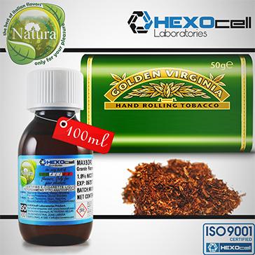 100ml VIRGINIA 9mg eLiquid (With Nicotine, Medium) - Natura eLiquid by HEXOcell