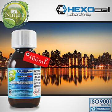 100ml MANHATTAN 9mg eLiquid (With Nicotine, Medium) - Natura eLiquid by HEXOcell
