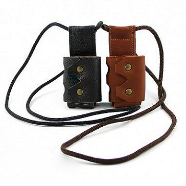 ΑΞΕΣΟΥΆΡ / ΔΙΆΦΟΡΑ - Argo iStick 10W Leather Carry Case with Lanyard ( Black )