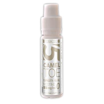 15ml CAMEL TOE / ORIENTAL TOBACCO 18mg eLiquid (With Nicotine, Strong) - eLiquid by Pink Fury