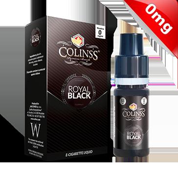 10ml ROYAL BLACK 0mg eLiquid (555 Tobacco) - eLiquid by Colins's