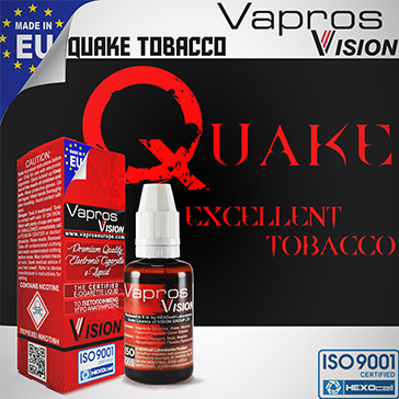30ml QUAKE 18mg eLiquid (With Nicotine, Strong) - eLiquid by Vapros/Vision