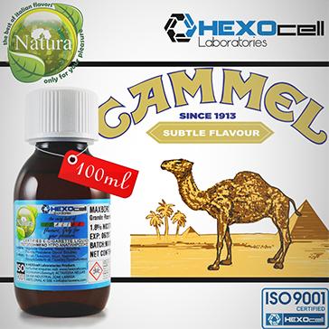 100ml CAMMEL 9mg eLiquid (With Nicotine, Medium) - Natura eLiquid by HEXOcell