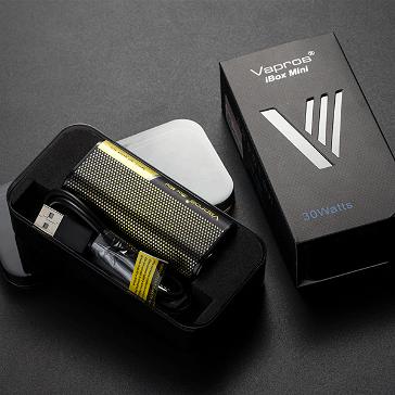 KIT - Vapros iBox Mini 30W Sub Ohm - 2000mAh VV/VW ( Yellow )