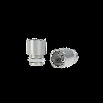 ΑΞΕΣΟΥΆΡ / ΔΙΆΦΟΡΑ - Short 510 Wide Bore Drip Tip ( Stainless Steel )