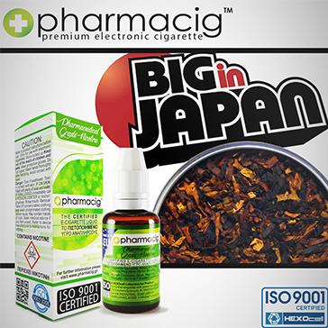 30ml BIG IN JAPAN 18mg eLiquid (With Nicotine, Strong) - eLiquid by Pharmacig