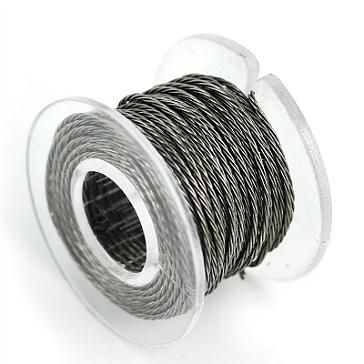 ΑΞΕΣΟΥΆΡ / ΔΙΆΦΟΡΑ - 30 Gauge Twisted Kanthal A1 Wire ( 3.3ft / 1m )
