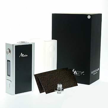KIT - IJOY Asolo 200W TC Box Mod with Flavor Mode ( Stainless )