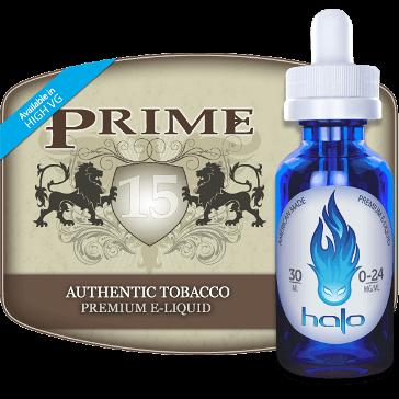 30ml PRIME15 3mg eLiquid (With Nicotine, Very Low) - eLiquid by Halo