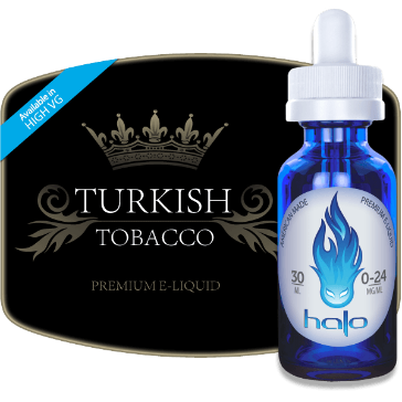 30ml TURKISH 12mg eLiquid (With Nicotine, Medium) - eLiquid by Halo