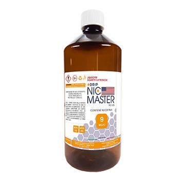 D.I.Y. - 1000ml NIC MASTER Drip Series eLiquid Base (20% PG, 80% VG, 9mg/ml Nicotine)