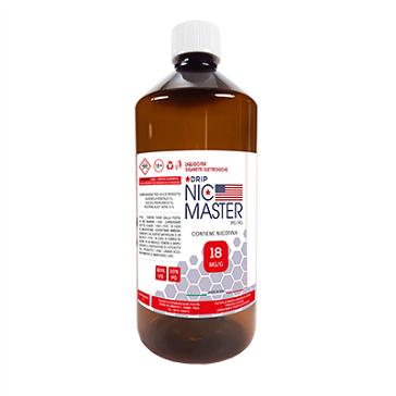 D.I.Y. - 1000ml NIC MASTER Drip Series eLiquid Base (20% PG, 80% VG, 18mg/ml Nicotine)