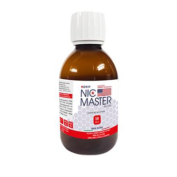 D.I.Y. - 250ml NIC MASTER Drip Series eLiquid Base (20% PG, 80% VG, 18mg/ml Nicotine)
