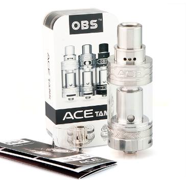 ΑΤΜΟΠΟΙΗΤΉΣ - OBS Ace Ceramic Coil Sub Ohm Tank Atomizer ( Stainless )