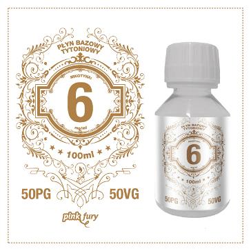 D.I.Y. - 100ml PINK FURY Tobacco Base (50% PG, 50% VG, 6mg/ml Nicotine)