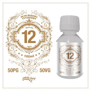 D.I.Y. - 100ml PINK FURY Tobacco Base (50% PG, 50% VG, 12mg/ml Nicotine)