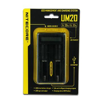ΦΟΡΤΙΣΤΗΣ - Nitecore UM20 External Battery Charger