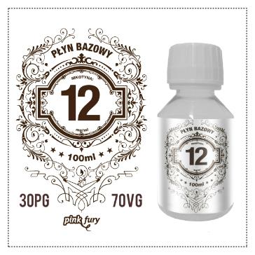 D.I.Y. - 100ml PINK FURY Neutral Base (30% PG, 70% VG, 12mg/ml Nicotine)