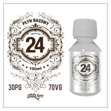 D.I.Y. - 100ml PINK FURY Neutral Base (30% PG, 70% VG, 24mg/ml Nicotine)