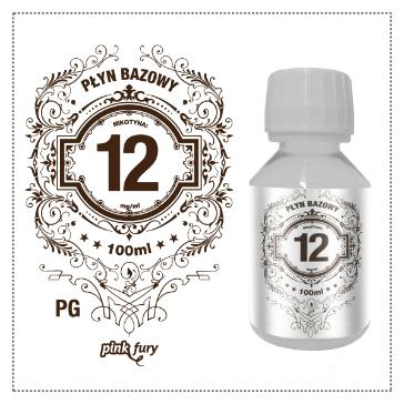 D.I.Y. - 100ml PINK FURY Neutral Base (100% PG, 12mg/ml Nicotine)