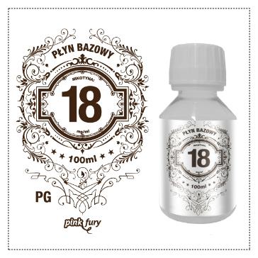 D.I.Y. - 100ml PINK FURY Neutral Base (100% PG, 18mg/ml Nicotine)