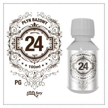 D.I.Y. - 100ml PINK FURY Neutral Base (100% PG, 24mg/ml Nicotine)