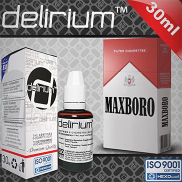 30ml MAXXXBORO 18mg eLiquid (With Nicotine, Strong) - eLiquid by delirium