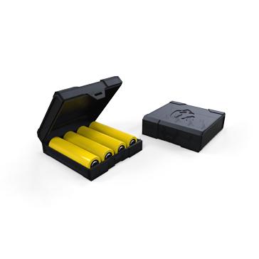 ΑΞΕΣΟΥΆΡ / ΔΙΆΦΟΡΑ - CHUBBY GORILLA Quad/Four 18650 Battery Case ( Black )