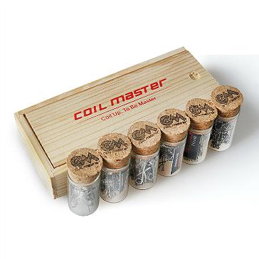 ΑΞΕΣΟΥΆΡ / ΔΙΆΦΟΡΑ - 60x Coil Master 0.45Ω Pre-Built Fused Clapton Kanthal Coils