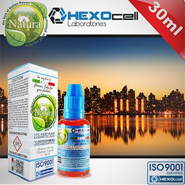 30ml MANHATTAN 3mg eLiquid (With Nicotine, Very Low) - Natura eLiquid by HEXOcell