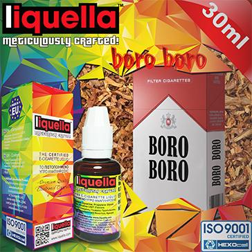 30ml BORO BORO 3mg eLiquid (With Nicotine, Very Low) - Liquella eLiquid by HEXOcell