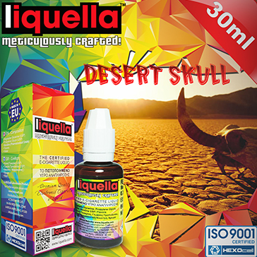 30ml DESERT SKULL 0mg eLiquid (Without Nicotine) - Liquella eLiquid by HEXOcell