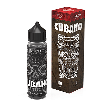 60ml CUBANO 3mg High VG eLiquid (With Nicotine, Very Low) - eLiquid by VGOD