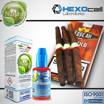 30ml TUSCAN 0mg Υγρό Αναπλήρωσης ( Χωρίς Νικοτίνη ) - Natura Υγρά Αναπλήρωσης από την HEXOcell
